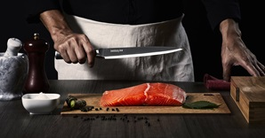Chef with Sushi Knife