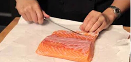 Filleting Salmon Video