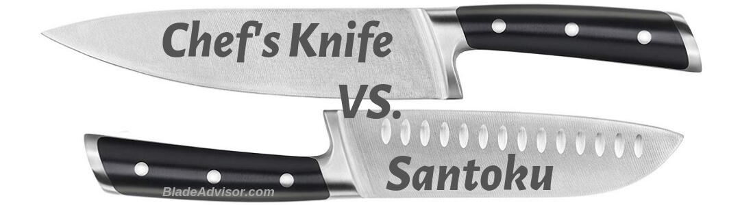 santoku vs chef knife