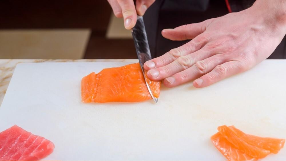Cutting Nigiri