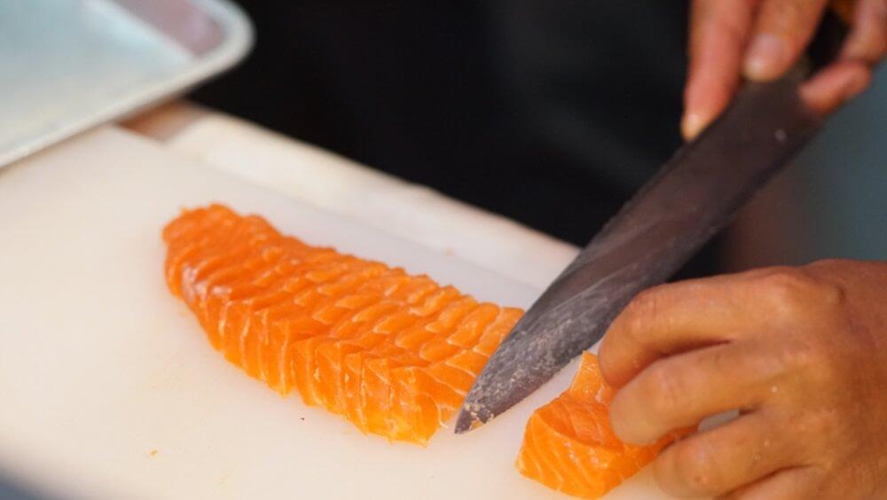 Cutting Sashimi