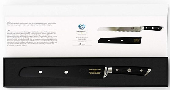 Dalstrong Gladiator Bread Knife - Great Gift Packaging