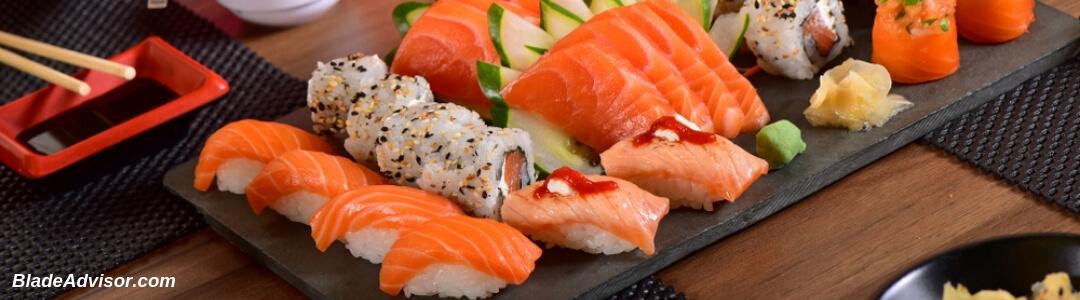 How To Cut Salmon Sashimi Header Image