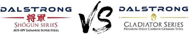 Dalstrong Shogun vs Gladiator