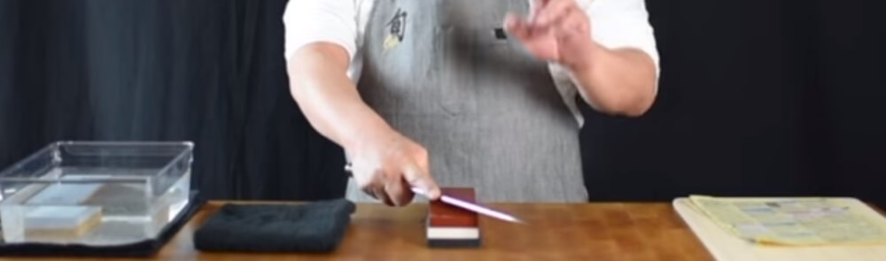 Sharpening Shun Knives
