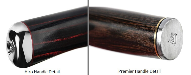 Shun Hiro vs Premier - Handle Detail Image