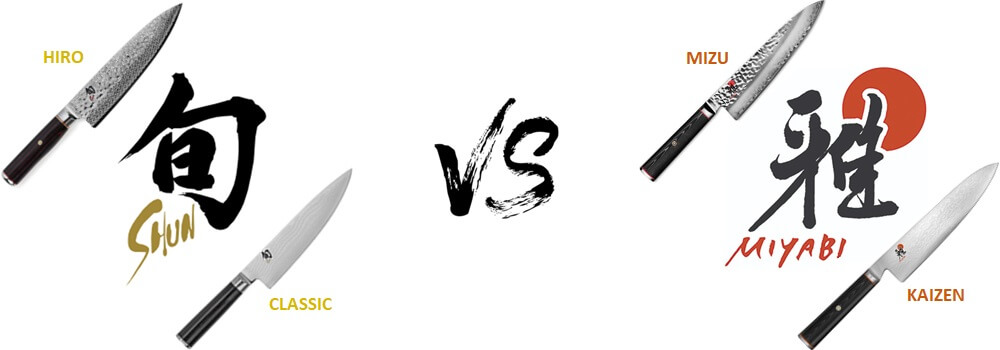 Shun vs Miyabi: Epic Compare of the Best Japanese Kitchen Knives