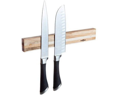 Wooden Magnetic Knife Holder by wooDsom