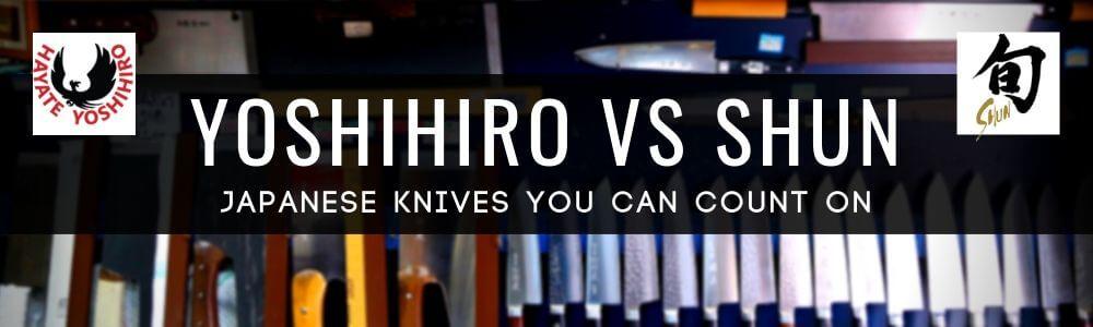 Yoshihiro vs Shun Cutlery: The Ultimate Japanese Slicing Knives Comparison