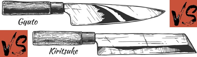 Kiritsuke vs Gyuto
