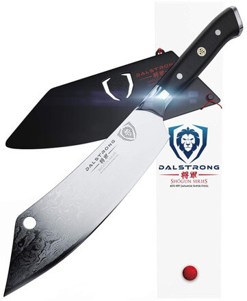 Dalstrong Crixus Chef & Cleaver Hybrid Meat Knife