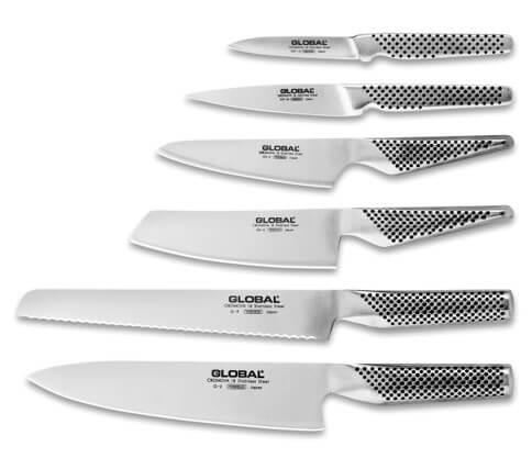 Global Knives Review - 7pc Knife Set
