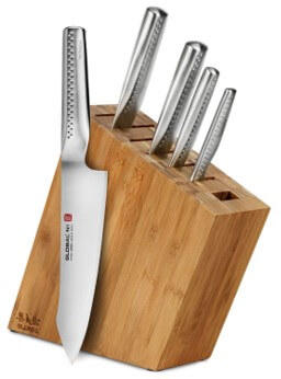 Global NI Knives Review - 6pc Knife Block Set