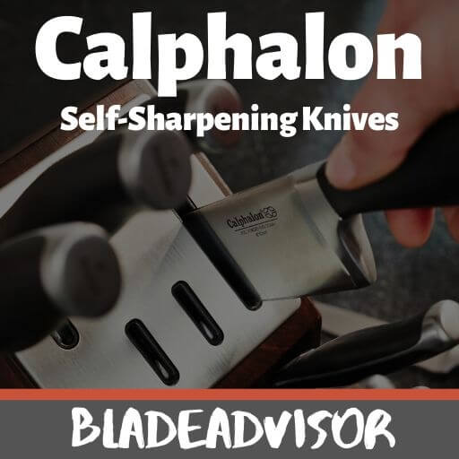 Calphalon Knives Review – The 5 Best Self-Sharpening Knife Sets