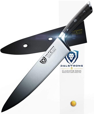 Dalstrong Gladiator Chef Knife - Best Affordable Chef Knife Under 100