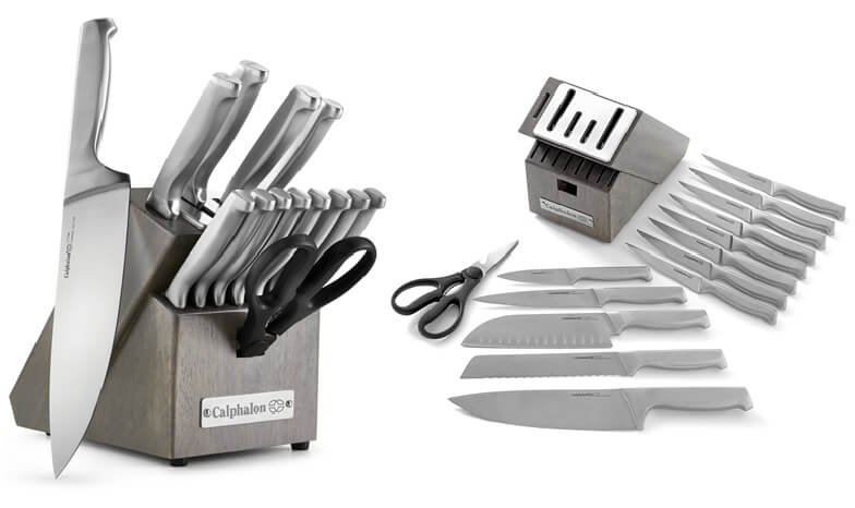 Calphalon Classic Stainless Steel 15pc Knife Set 2017942 Review