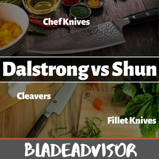 Dalstrong vs Shun Review: A Chef's, Cleaver, and Fillet Knife Comparison