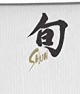 Shun Classic Meat Cleaver Blade Detail