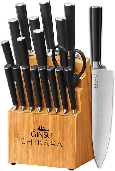 Ginsu Gourmet Chikara 19pc Knife Set