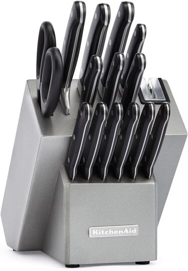 kitchenaid 16pc classic forged Cutlery set review
