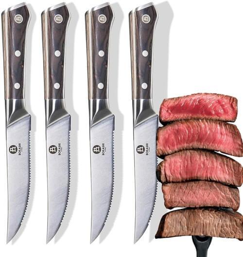 Bokashi Steel Steak Knives Review