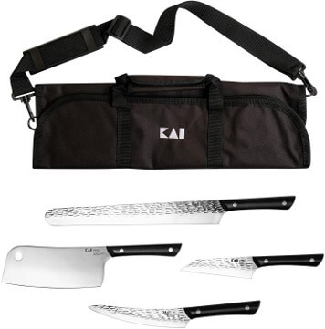 Kai Pro BBQ 5-pc knife set and carry case review