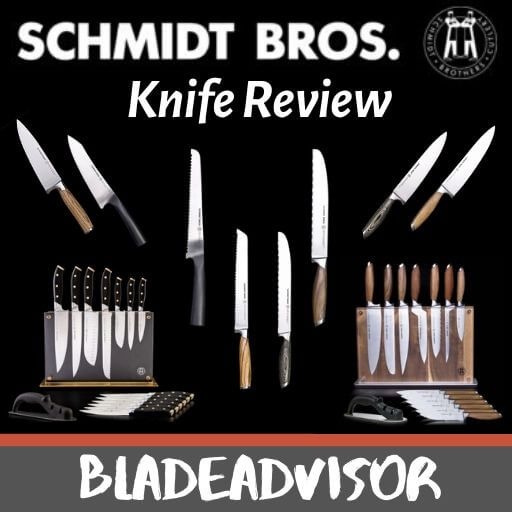 The Best Schmidt Brothers Cutlery Review:  Contemporary Knives Made with Brotherly Love