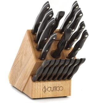 Cutco 2018 Homemaker 18-pc knife block set