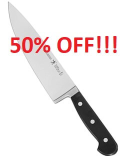 Black Friday Chef Knife Deal - 50% off