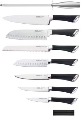 Chicago Cutlery Fusion 17pc Block Set