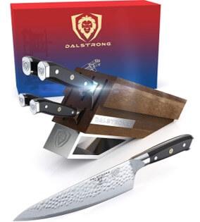 Dalstrong 5pc Knife Block Set - Shogun X Series - Amazon Prime Day Sale