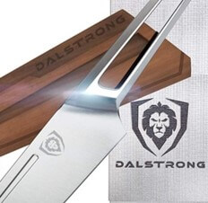 Dalstrong Crusader Series Chef Knife and Wooden Sheath