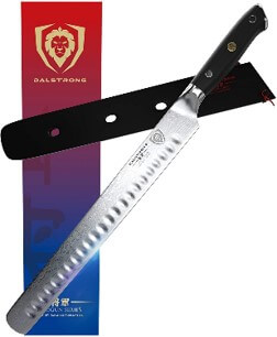 Dalstrong Shogun Series Slicing Carving Knife 12-inch Granton Edge