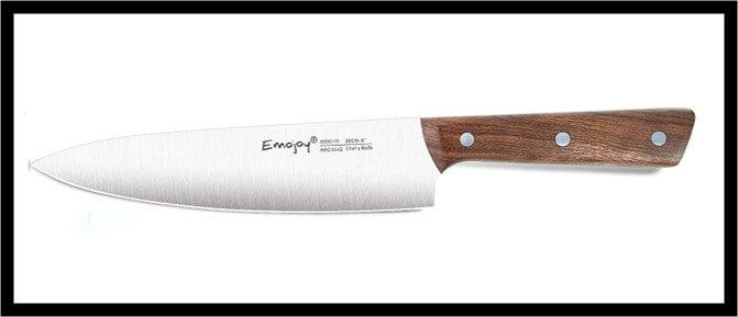 Emojoy Wooden Handle Knife