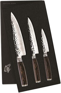 Shun Cutlery Premier 3pc starter knife set