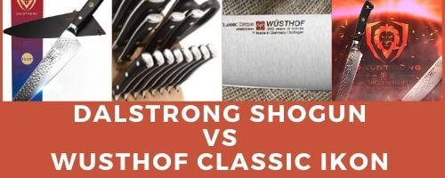 dalstrong shogun vs wusthof classic ikon
