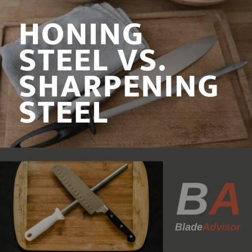 Honing Steel vs Sharpening Steel