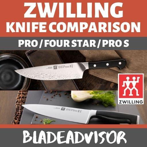 Zwilling Pro vs Four Star vs Pro S Knife Comparison & Review